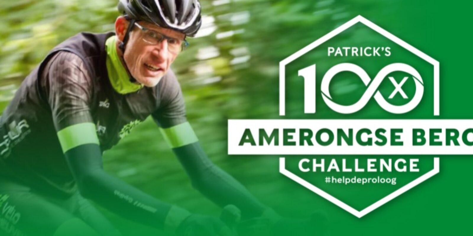 De fietschallenge van collega Patrick Aris: 100x de Amerongse Berg op!
