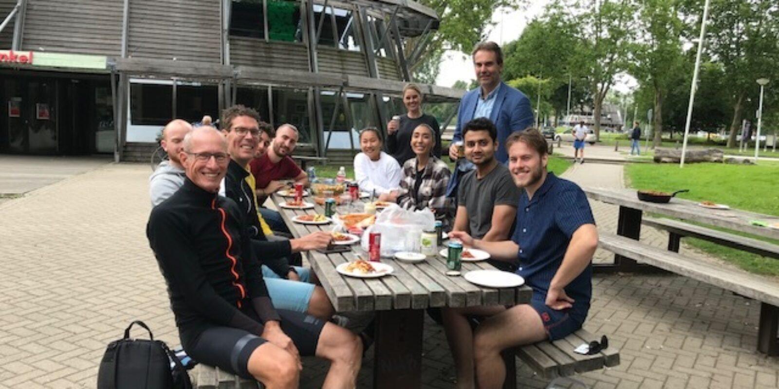 Fitsurance Team Event in Amsterdam: 'supper vet'