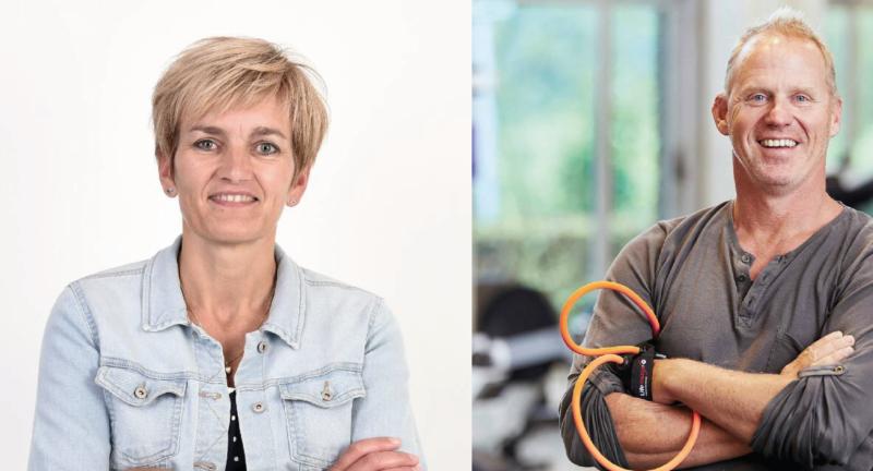 Mariëlle Reijbroek en Nick Vroon